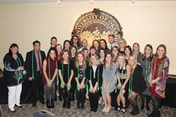 2016 Faculty and Student Alpha Eta Initiates